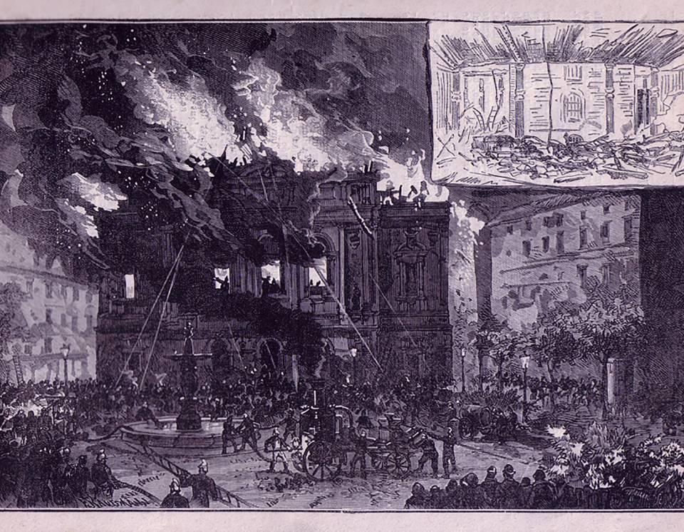 1877 le théâtre brule.