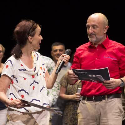 Prix Célest'1_Prix Spécial, Anne de Boissy et JP Saliéro © Emmanuel Foudrot 29523